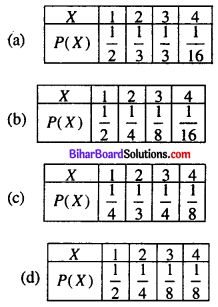 Bihar Board 12th Maths Objective Answers Chapter 13 Probability Q25