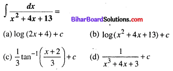 Bihar Board 12th Maths Objective Answers Chapter 7 समाकलन Q27
