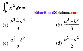 Bihar Board 12th Maths Objective Answers Chapter 7 समाकलन Q32