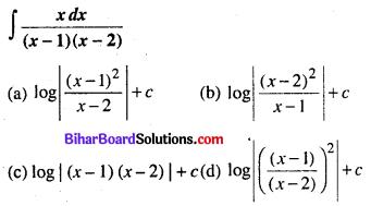 Bihar Board 12th Maths Objective Answers Chapter 7 समाकलन Q42
