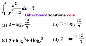Bihar Board 12th Maths Objective Answers Chapter 7 समाकलन Q66