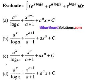 Bihar Board 12th Maths Objective Answers Chapter 7 Integrals Q2