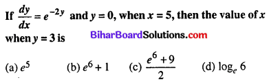 Bihar Board 12th Maths Objective Answers Chapter 9 Differential Equations Q38