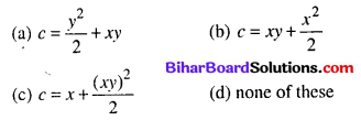 Bihar Board 12th Maths Objective Answers Chapter 9 Differential Equations Q53