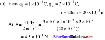 Bihar Board 12th Physics Objective Answers Chapter 1 Electric Charges and Fields - 6