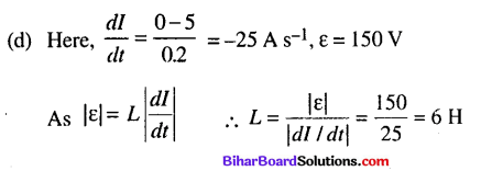 Bihar Board 12th Physics Objective Answers Chapter 6 Electromagnetic Induction - 5