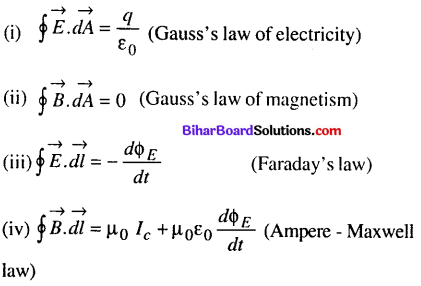 Bihar Board 12th Physics Objective Answers Chapter 8 Electromagnetic Waves - 4