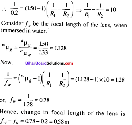 Bihar Board 12th Physics Objective Answers Chapter 9 Ray Optics and Optical Instruments - 9