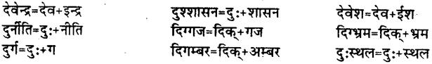 Bihar Board Class 12th Hindi व्याकरण संधि 15