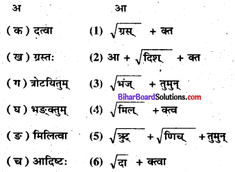Bihar Board Class 8 Sanskrit Solutions Chapter 2 संघे शक्ति 3