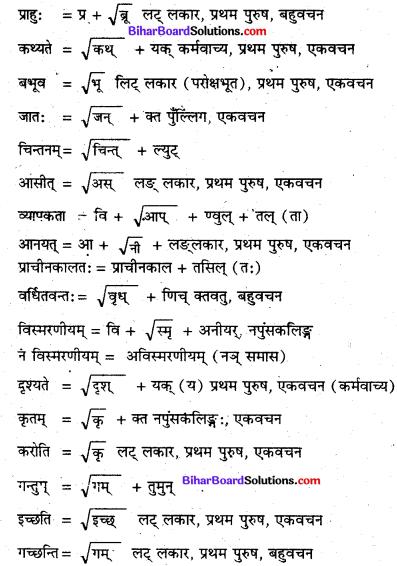 Bihar Board Class 8 Sanskrit Solutions Chapter 3 अस्माकं देश 1