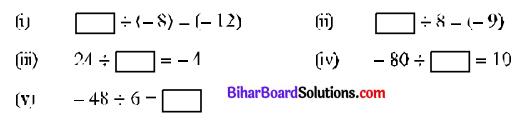 Bihar Board Class 7 Maths Solutions Chapter 1 पूर्णांक की समझ Ex 1.3 Q3