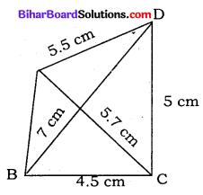 Bihar Board Class 8 Maths Solutions Chapter 7 ज्यामितीय आकृतियों की रचना Ex 7.2 Q1