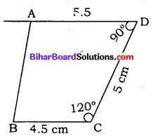 Bihar Board Class 8 Maths Solutions Chapter 7 ज्यामितीय आकृतियों की रचना Ex 7.3 Q1