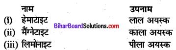Bihar Board Class 10 Geography Solutions Chapter 1D खनिज संसाधन - 1