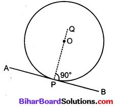 Bihar Board Class 10 Maths Solutions Chapter 10 वृत्त Ex 10.2 Q5
