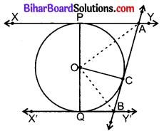 Bihar Board Class 10 Maths Solutions Chapter 10 वृत्त Ex 10.2 Q9.1
