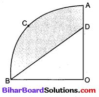 Bihar Board Class 10 Maths Solutions Chapter 12 वृतों से संबंधित क्षेत्रफल Additional Questions LAQ 3