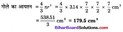 Bihar Board Class 10 Maths Solutions Chapter 13 पृष्ठीय क्षेत्रफल एवं आयतन Additional Questions SAQ 10