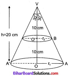 Bihar Board Class 10 Maths Solutions Chapter 13 पृष्ठीय क्षेत्रफल एवं आयतन Ex 13.4 Q5