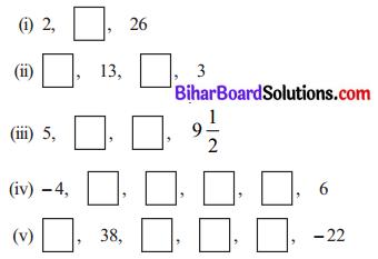 Bihar Board Class 10 Maths Solutions Chapter 5 समांतर श्रेढ़ियाँ Ex 5.2 Q3