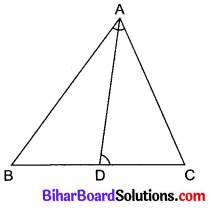 Bihar Board Class 10 Maths Solutions Chapter 6 त्रिभुज Ex 6.3 Q13