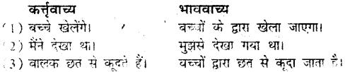 Bihar Board Class 9 Hindi व्याकरण वाच्य परिवर्तन- 4