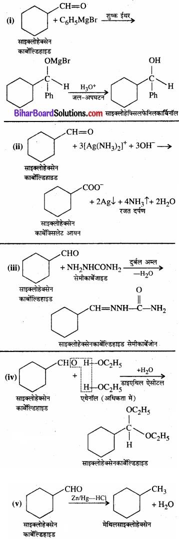 BIhar Board Class 12 Chemistry Chapter 12 ऐल्डिहाइड, कीटोन एवं कार्बोक्सिलिक अम्ल img-25