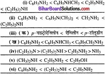 BIhar Board Class 12 Chemistry Chapter 13 ऐमीन img-21