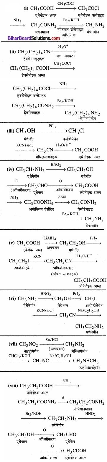 BIhar Board Class 12 Chemistry Chapter 13 ऐमीन img-22