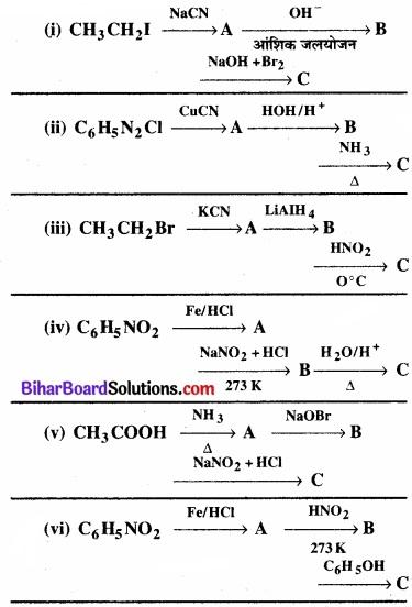 BIhar Board Class 12 Chemistry Chapter 13 ऐमीन img-35
