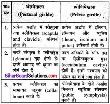 Bihar Board Class 11 Biology Chapter 20 गमन एवं संचलन