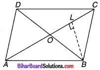 Bihar Board Class 9 Maths Solutions Chapter 9 समान्तर चतुर्भुज और त्रिभुजों के क्षेत्रफल Ex 9.3 Q 3