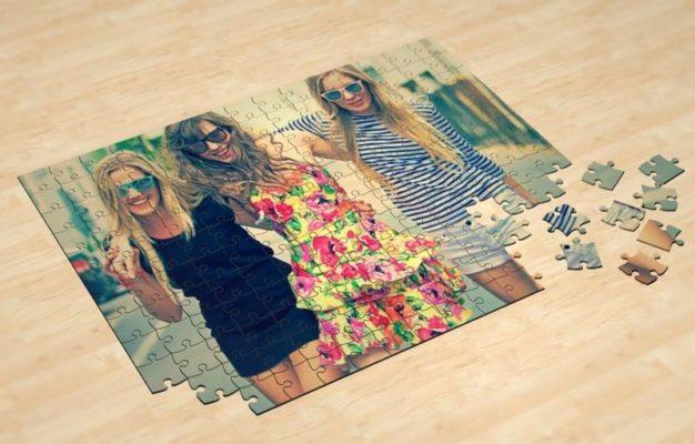 Фотопазлы картонные и магнитные