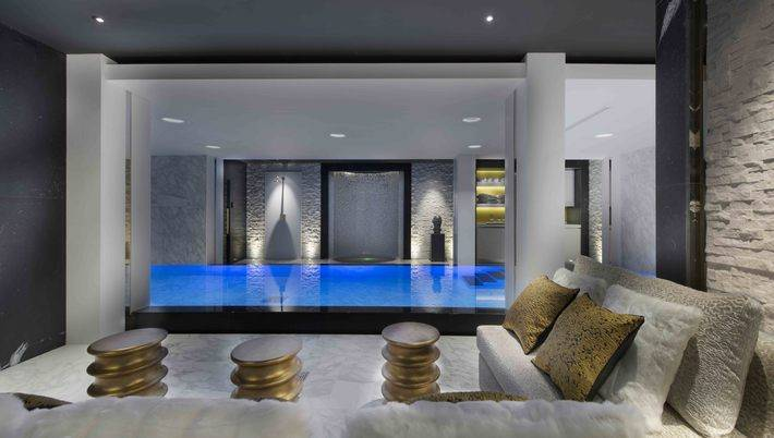 Basement Swimming Pool Spa BIID