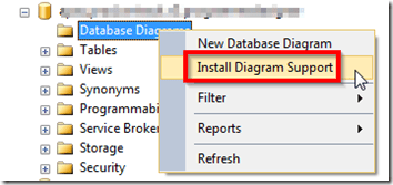 How to store a sql server database diagram into a file and share it now you are able to create your diagrams ccuart Images