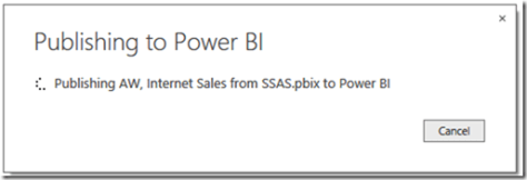 Power BI and SSAS Multidimensional 06