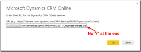 Dynamics CRM and Power BI 5