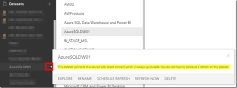 Azure SQL Data Warehouse and Power BI 05