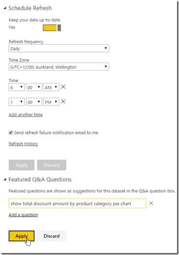 Azure SQL Data Warehouse and Power BI 15
