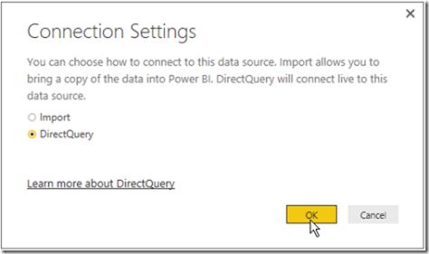 Power BI DirectQuery 05