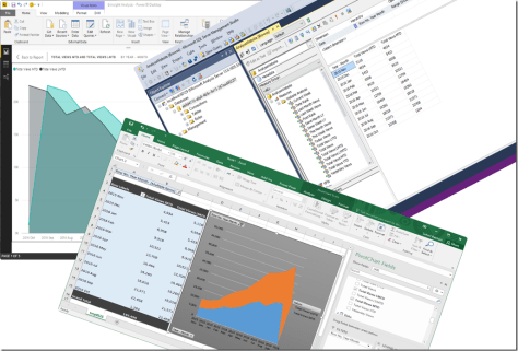Power BI Desktop Excel SSMS