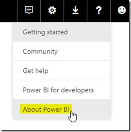 Power BI Service Region