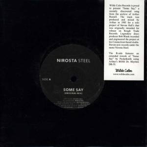 Nirosta Steel - Some Say - WC-004 - WILD CALM