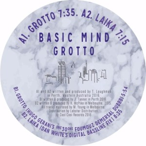 Basic Mind - Grotto Ep - COSI001 - COSI COSI