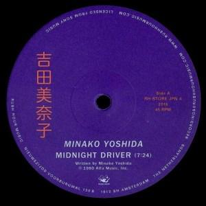 Minako Yoshida - Midnight Driver - RH-STOREJPN4 - RUSH HOUR