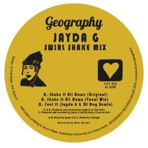 Jayda G - Swirl Shake Mix - GEO008 - GEOGRAPHY