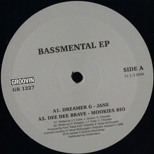 Various - Bassemental Ep - GR1227 - GROOVIN RECORDs
