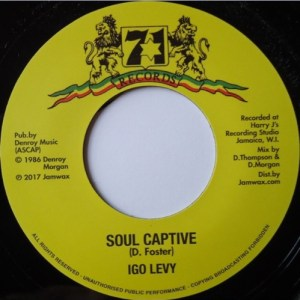 Igo Levy - Soul Captive - JAMWAX18 - JAMWAX