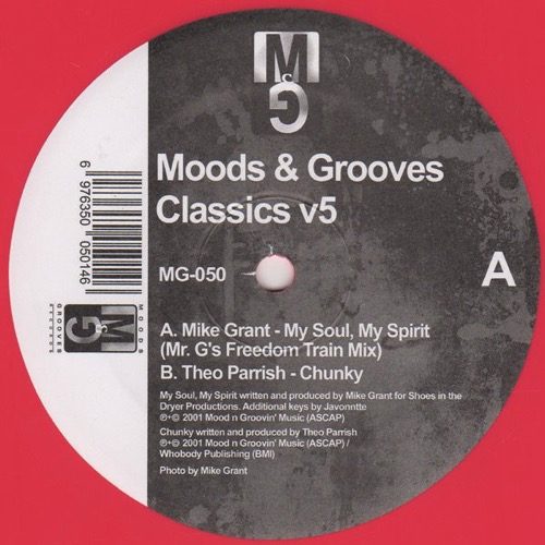 Mike Grant Theo Parrish - Moods & Grooves Classics v5 - MG-050 - MOODS & GROOVES